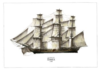 US Frigate Essex 1799
